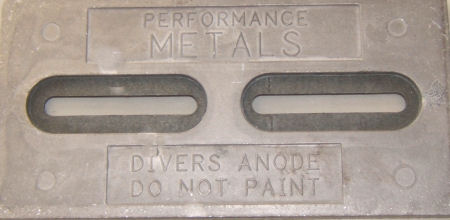 DIVER PLATE-NAVALLOY Hull Plate