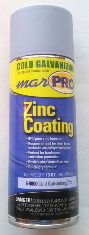 Cold Galvanizing Zinc Spray