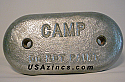 B-12 HULL PLATE-by CAMP CO.