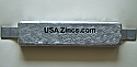 W-12 Weld-On Zinc Hull Plate