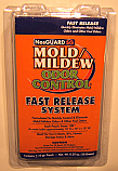 Mold/Mildew & Odor Control-Fast Release System